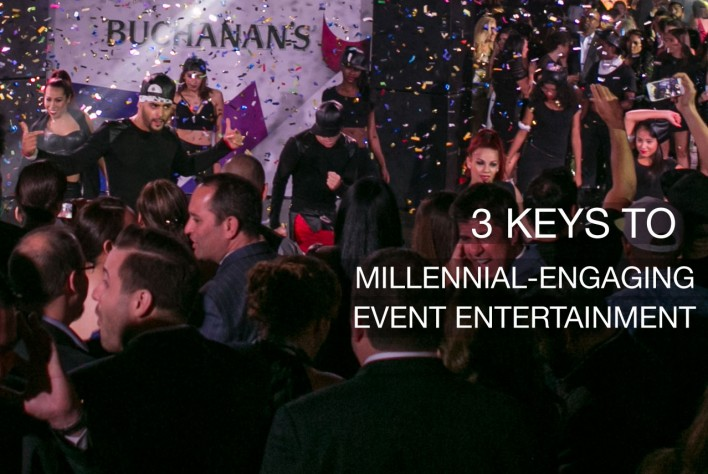 Event Entertainment Millennial-Engaging